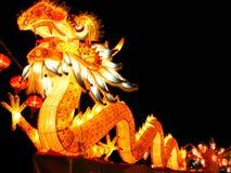 китайский тип дракона Стоковые Фотографии RF