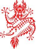 китайский тип дракона Стоковое Фото