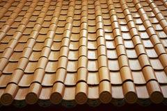 китайский тип крыши Стоковые Фото