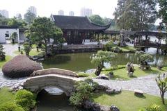 китайский тип сада Стоковая Фотография RF