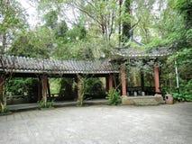 китайский тип сада стоковые фотографии rf