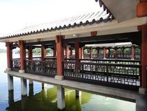 китайский тип сада стоковое фото