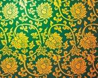 китайский тип флористического орнамента Стоковые Фото
