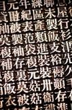 китайский тип Стоковое Фото