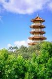 Китайский тип pagoda Стоковое Изображение