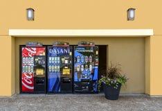 китайский торговый автомат машины Стоковое Фото