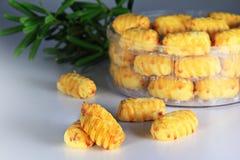 Китайский торт года - печенье ананаса Стоковые Фотографии RF