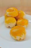 Китайский торт печенья или луны, китайский десерт фестиваля Стоковые Фотографии RF
