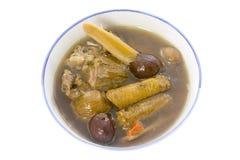 китайский травяной суп Стоковые Изображения RF