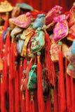 Китайский традиционный декоративный узел Стоковая Фотография