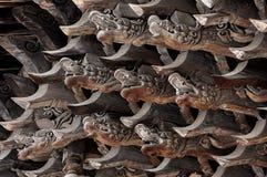 Китайский традиционный набор кронштейна стоковая фотография