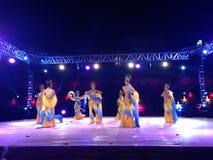 Китайский традиционный танец Стоковая Фотография
