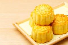 Китайский традиционный mooncake стоковые изображения rf