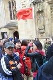 Китайский туристический гид 2 Стоковые Фотографии RF