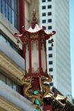 китайский уличный фонарь Стоковые Фотографии RF