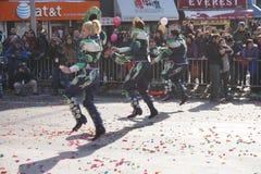 Китайский лунный парад 153 Нового Года 2015 Стоковые Изображения