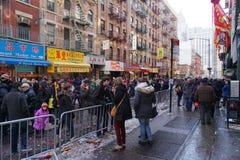 Китайский лунный парад 174 Нового Года 2015 Стоковые Изображения