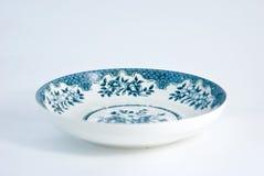 китайский фарфор плиты Стоковые Фото