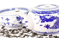 китайский фарфор традиционный Стоковое Изображение