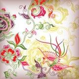 китайский флористический тип Стоковое Изображение RF