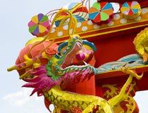 китайский фонарик дракона традиционный Стоковое Изображение