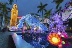 Китайский фонарик на китайский Новый Год Стоковое Изображение RF