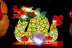 китайский фонарик дракона Стоковые Изображения RF