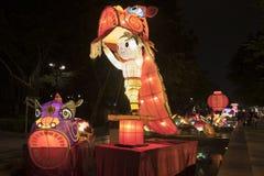 китайский фонарик дракона Стоковое Изображение RF