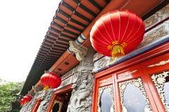 китайский фонарик традиционный Стоковое Фото