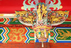 китайский фонарик украшения Стоковые Фотографии RF