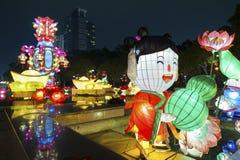китайский фонарик стоковая фотография rf