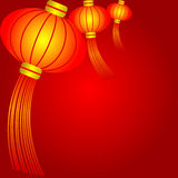 китайский фонарик Стоковое Фото