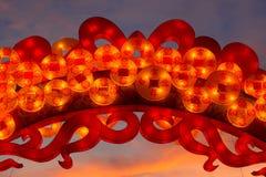 китайский фонарик Стоковые Фото