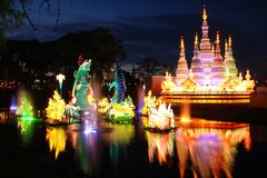 китайский фонарик toronto празднества Стоковая Фотография