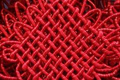 китайский хороший орнамент везения узла Стоковые Фотографии RF