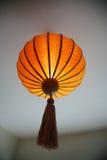 китайский цветастый фонарик Стоковые Изображения
