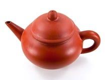 китайский чайник глины Стоковые Изображения RF