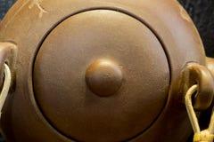 китайский чайник глины Стоковая Фотография RF