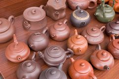 китайский чайник Стоковое Фото