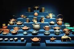 китайский чайник Стоковые Фотографии RF