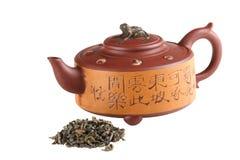 китайский чайник Стоковое Изображение