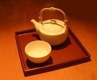китайский чайник Стоковые Изображения