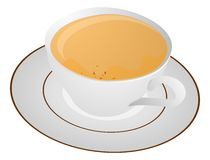 китайский чай иллюстрации Стоковое фото RF