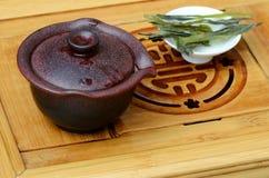 Китайский чай gaiwan и oolong Стоковая Фотография RF