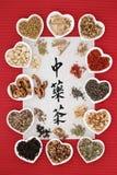 китайский чай травы Стоковые Изображения