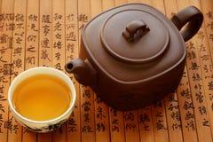 китайский чай традиционный Стоковые Фото