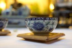 китайский чай чашки стоковое фото rf