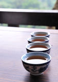 китайский чай чашки Стоковое Фото