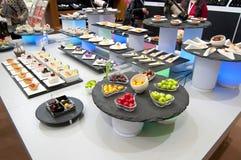 Китайский шведский стол стоковые фото