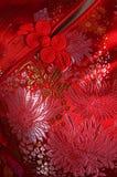 китайский шелк ткани Стоковые Изображения RF